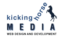Kicking Horse Media Web Design & Development Logo